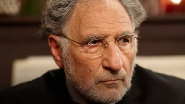 ". Judd Hirsch from the Warehouse 13 Holiday episode, ""Secret Santa.\"" SyFy"