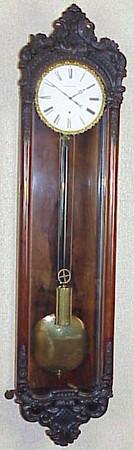 VR-283 - 90-Day duration Austrian Biedermeier timepiece by Kaufmann in Wien