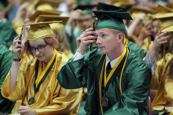 2017 Wawasee High School graduation