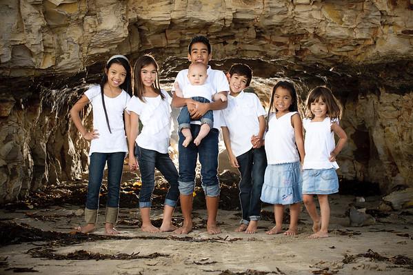 The Ruizes - Family Photography, 4-Mile Beach, Santa Cruz, California