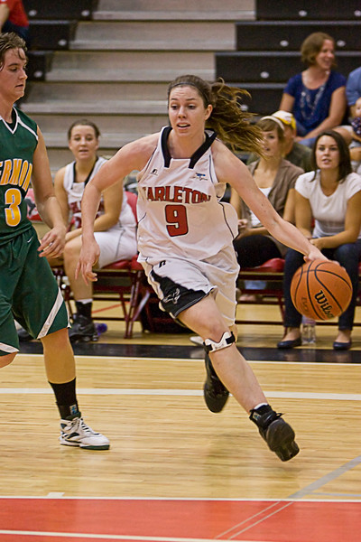 2009-10 Ravens Women BBall Pre-season vs NCAA teams