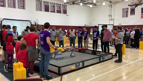2.11.20 US Robotics Match @ Dwight Morrow HS