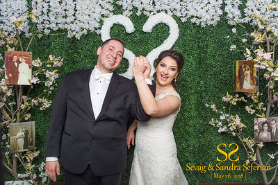 Sevag & Sandra Seferian's Wedding Photo Booth