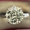2.03ct Art Deco Transitional Cut Diamond Solitaire 5