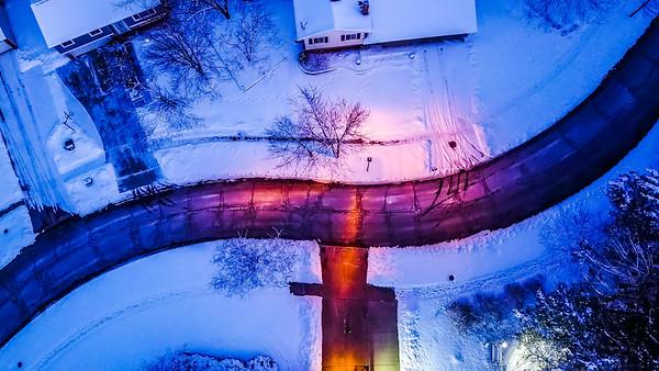 Winter Drone Photos - DJI Mavic Mini