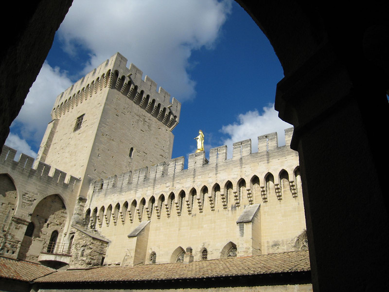 Avignon, France - Palace of the Popes