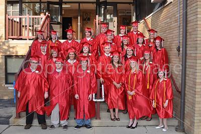 La Moille High School Graduation, June 5, 2009