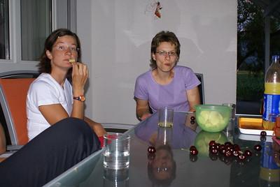 14.07.2007 - Fitnessriege Kaffeehalt bei Doris