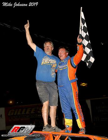 Fulton Speedway - 8/24/19 - Mike Johnson