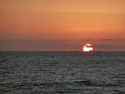 Sunrise, sunset....