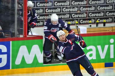 Hockey WM 2013 , USA vs. GER
