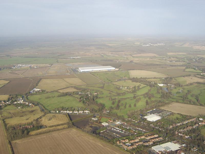 John Lewis Disribution Centre, Magna Park, Milton Keynes where I now work!!