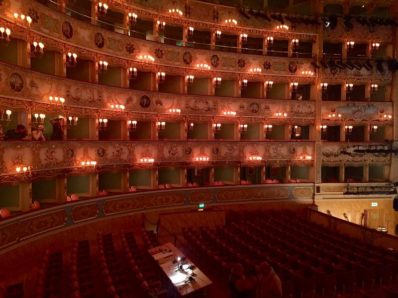 Teatro La Fenice. Venice
