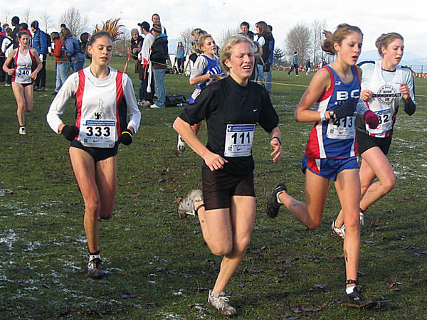 2005 Canadian XC Championships - Watch out for the rabbit hole.  Made ya look.