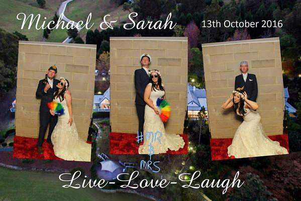 Michael & Sarah's Wedding - 13 October 2016