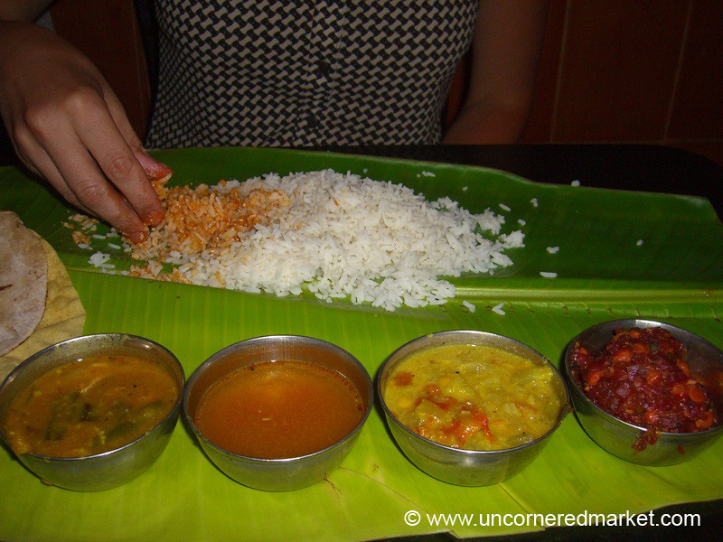 Right-Hand Eating: India