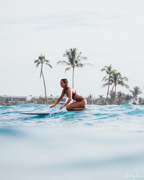 Anna Ehrgott in Hawaii