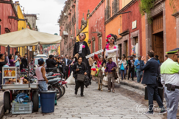 Wedding Parade in San Miguel de Allende, Mexico-Katherine & Forrest