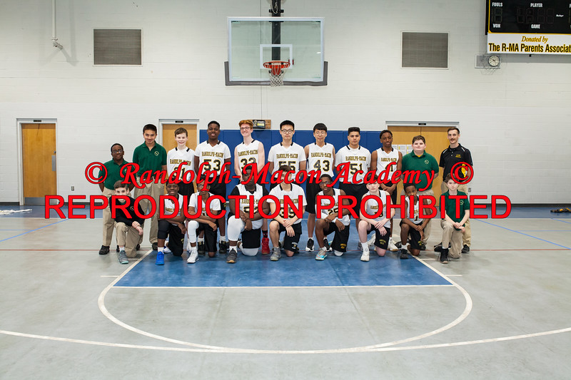 Boys Basketball Posed