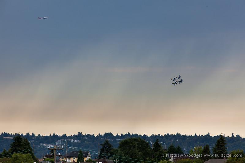 Woodget-140801-095--blue angel, city - CATEGORIES, cityscape - CATEGORIES, jet fighter, Seattle.jpg