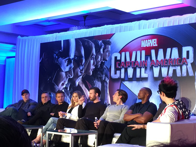 PART 2: #TeamCap on moving Marvel forward with CAPTAIN AMERICA: CIVIL WAR