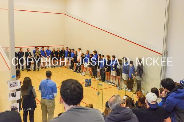 Hamilton Men's and Women's Squash v Conn 2-11-17