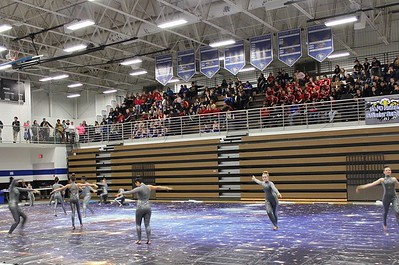2014-01-18 Winterguard at South Forsyth (photos by Donna Booth)
