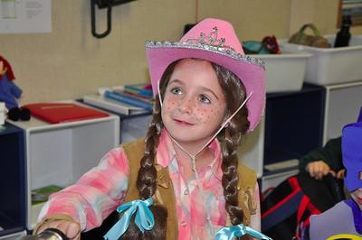 First Grade Halloween at THS - 2011