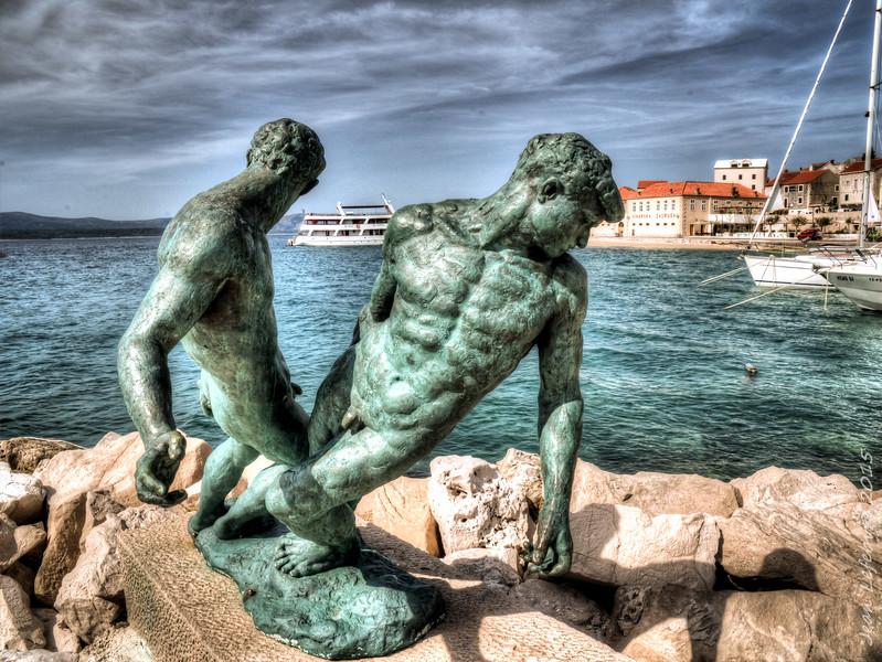 Bol Harbour, Croatia