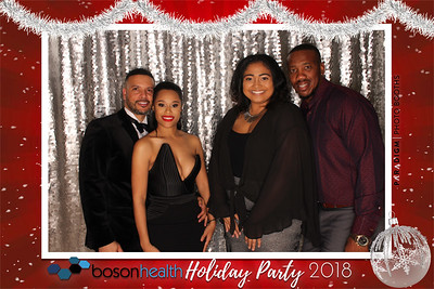 December 08, 2018 - Boson Health Holiday Party