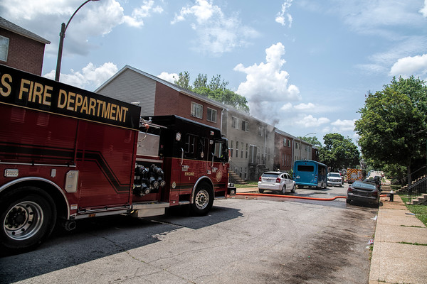 St. Louis area fires