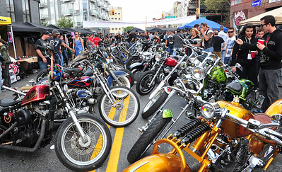 INDIAN LARRY 2014 GREASE MONKEY BLOCK PARTY