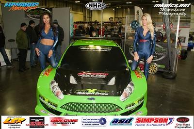 National Hot Rod Grid Girls & Cars at MWA