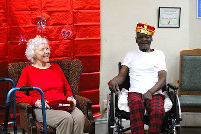 Annual  Valentine's Day Party at Pine Grove Nursing Center