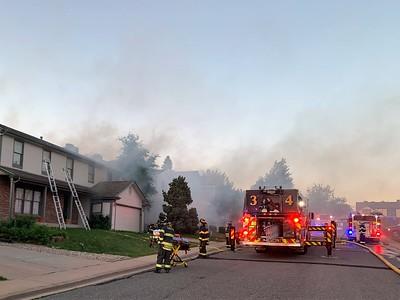 Teton Court Home Fire
