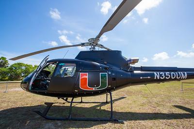 Unveiling of Helicopter Observation Platform - April 13, 2015