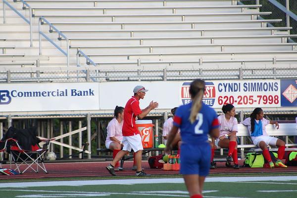 Women's Soccer vs. KCK 9-20-17