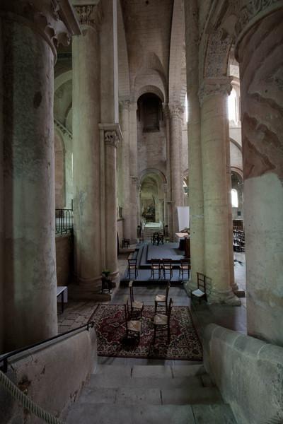 Saint-Hilaire-le-Grand Abbey Columns