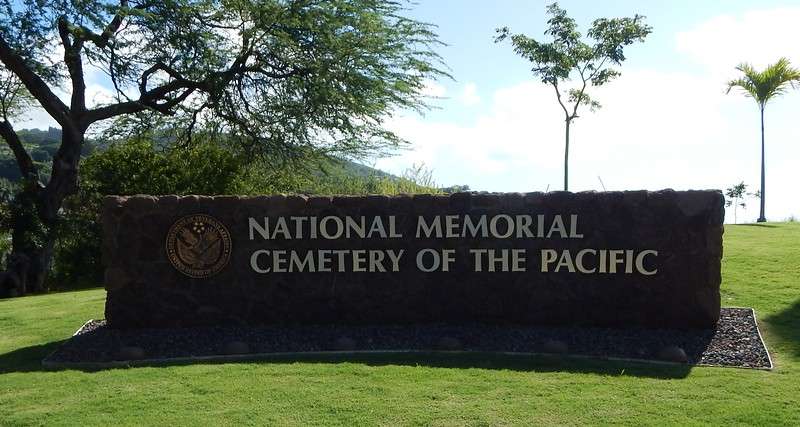11/14/2018 - we visited the National Memorial Cemetery of the Pacific, known as the Punchbowl Cemetery