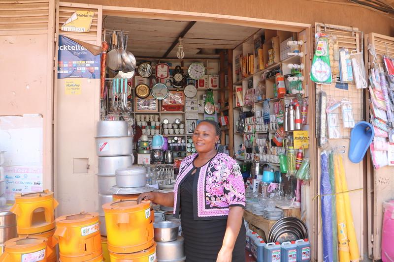 Kalerwe Trading Center - Agnes Namatovu