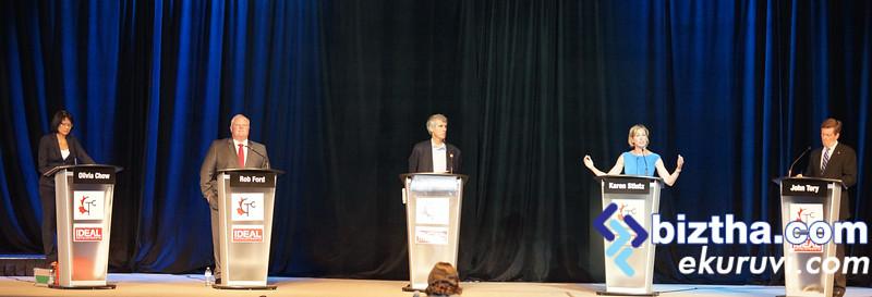 Mayoral candidate debate in Scarborough-JULY-15-2014