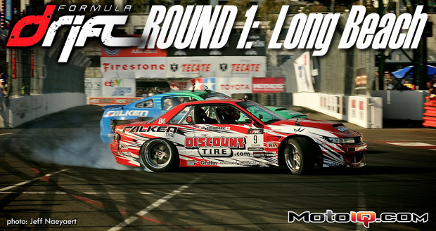 Formula Drift Round 1 Long Beach