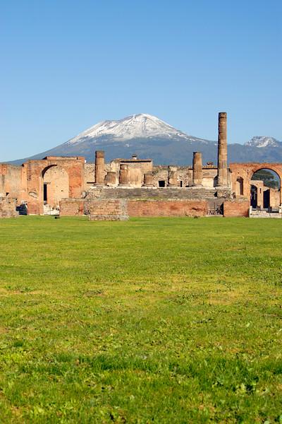 Pompeii and Mt Vesuvius