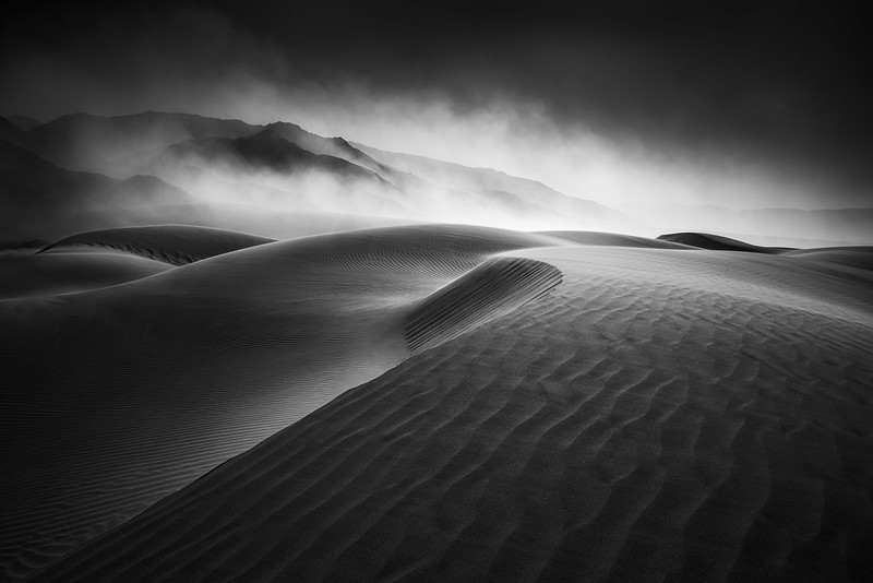 Sandstorm, Death Valley
