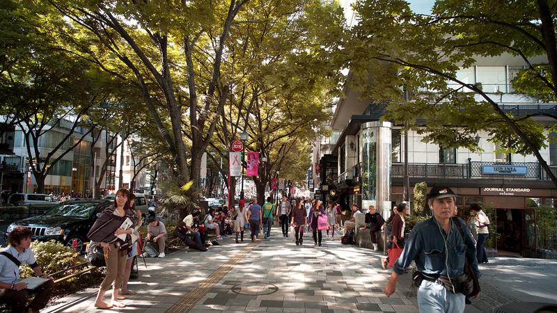Harajuku's Omotesando Street