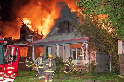 Military & G.A.R. Dwelling Fires (Detroit, MI) 10/14/18