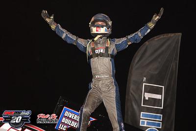 Fremont Speedway - All Star Sprints - 7/4/20 - Paul Arch