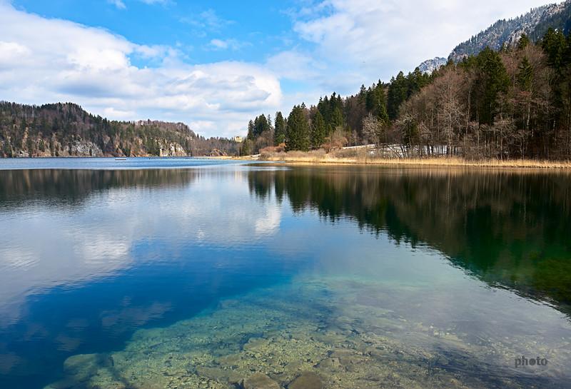 Alpsee bei Hohenschwangau