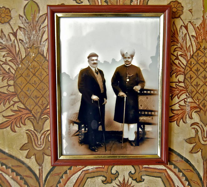 Photos in the Maharaja's Palace in Bangalore