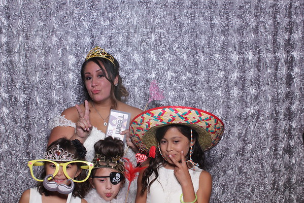 Alexis and Andrew's Wedding Photo Booth at the Croatian Center in Merrillville Indiana